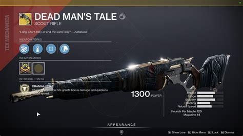Destiny Ttk Best Exotic Scout Rifle