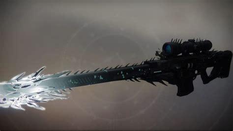 Destiny Year 2 Legendary Sniper Rifles