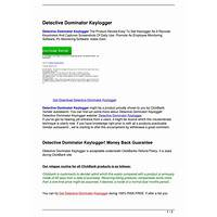 Cash back for detective dominator keylogger