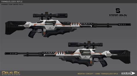 Deus Ex Mankind Divided Best Rifle