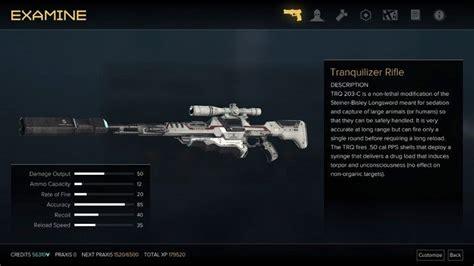 Deus Ex Mankind Divided Where To Get Tranquilizer Rifle Ammo