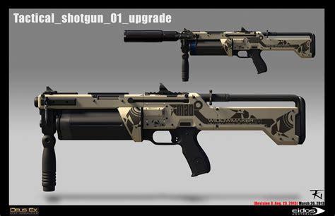 Deus Ex Shotgun Or Assault Rifle