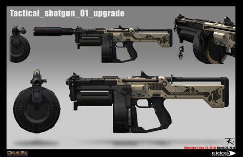 Deus Ex Shotgun Vs Combat Rifle