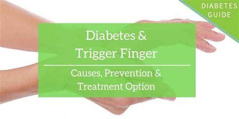 Diabetes Trigger Finger Treatment