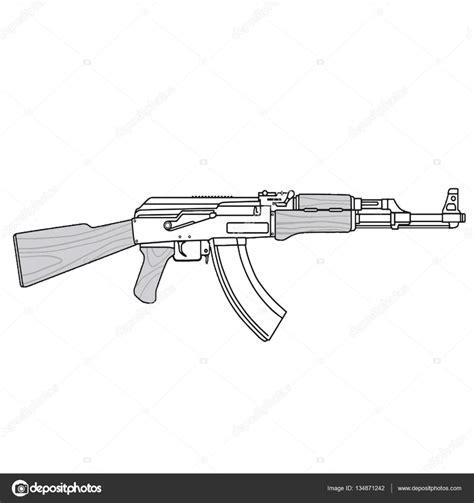 Dibujos De Armas Ak 47