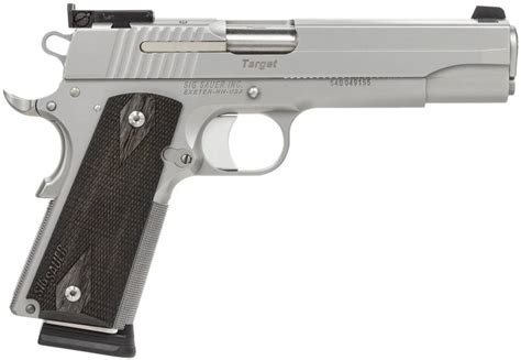Sig-Sauer Difference Between Ca Complaint And Not Sig Sauer 1911.