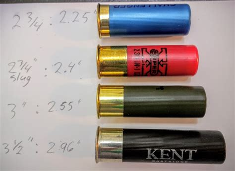 Difference In Shotgun Shell Length