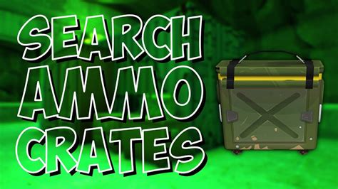 Different Kind Ammo Boxes Fortnite