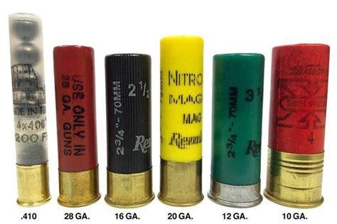Different Kinds Of 12 Gauge Shotgun Shells