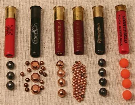 Different Types Of 410 Shotgun Shells