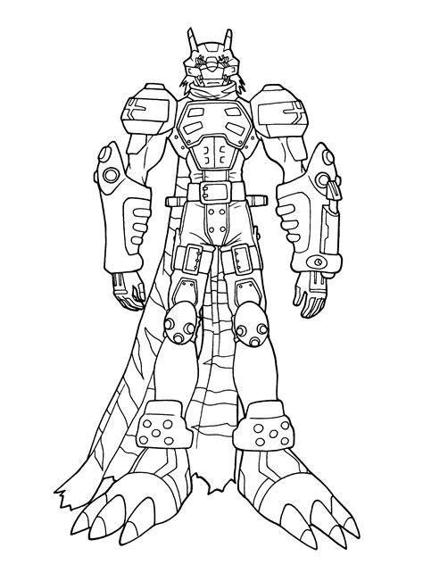 Digimon Malvorlage