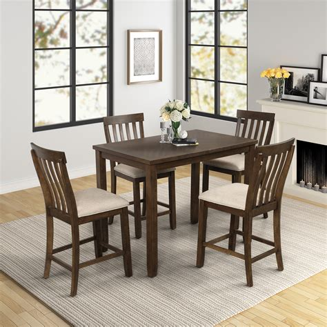 dining room table wood Image