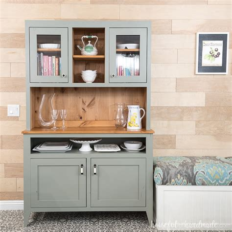 Dining Room Hutch Building Plans