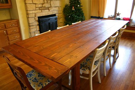 Dining room table building plans Image