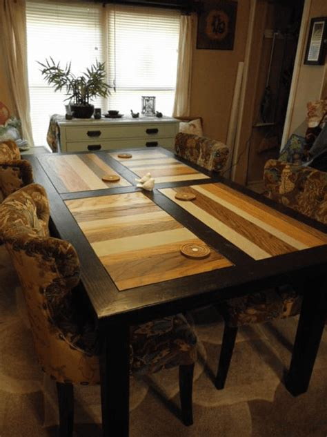 Dining room table plans free Image