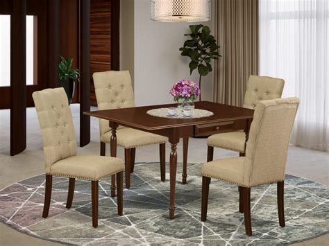 Dining room wood table Image