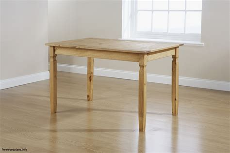 Dining table woodworking plans Image