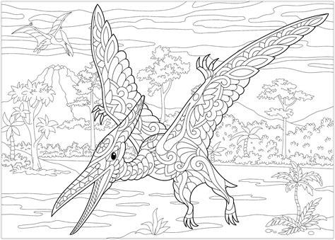 Dinosaurier Ausmalbilder Für Erwachsene