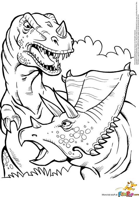 Dinosaurier Ausmalbilder Gratis