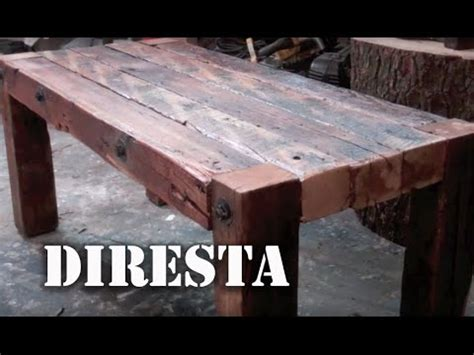 diresta reclaimed wood table Image