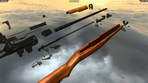 Disassmbly Of M1 Garand