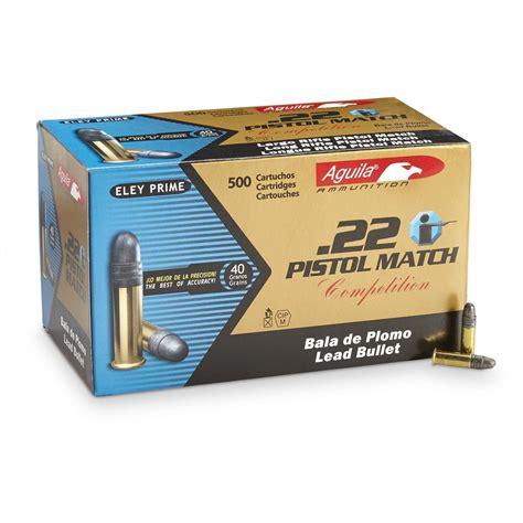 Discount Aguila Pistol Match 22 Ammo