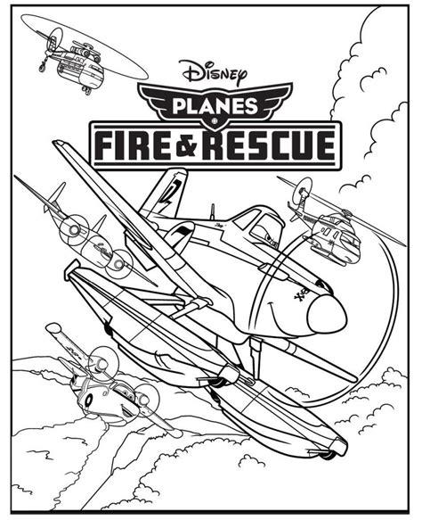 Disney Planes Malvorlagen