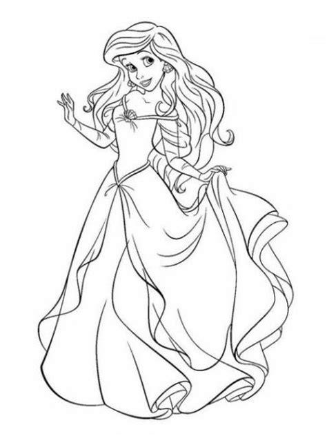 Disney Prinzessinnen Malvorlage