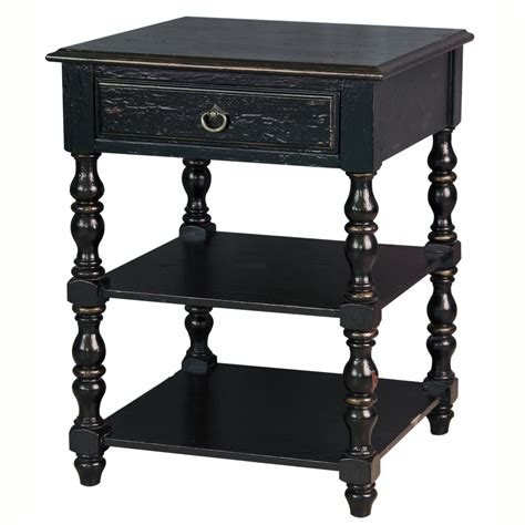 Distressed Painted End Tables Image