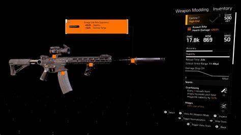 Division 2 Best Assault Rifle Attachments