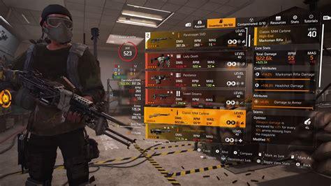 Division 2 Best Sniper Rifles