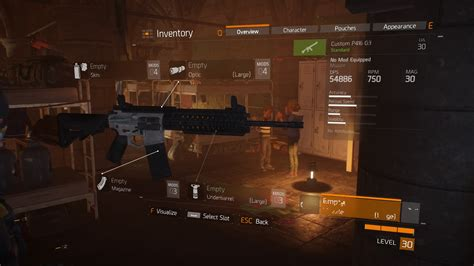 Division 2 How To Find P416 G3 Assault Rifle Blueprints