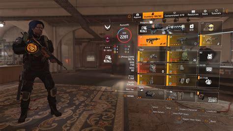 Division 2 May 2019 Assault Rifle Build