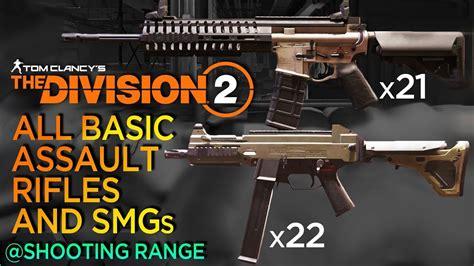 Division 2 Smg Vs Assault Rifle