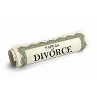 Divorce papers secret code