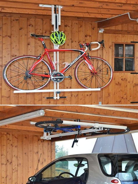 diy garage bike storage.aspx Image