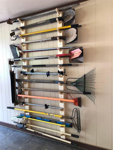 diy garage yard tool storage.aspx Image