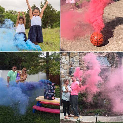 Diy Gender Reveal Smoke Bomb Box