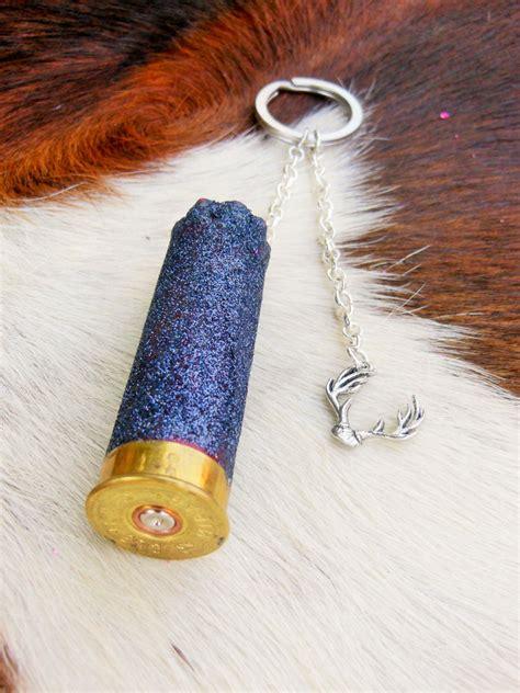 Diy Glitter Shotgun Shell Keychain