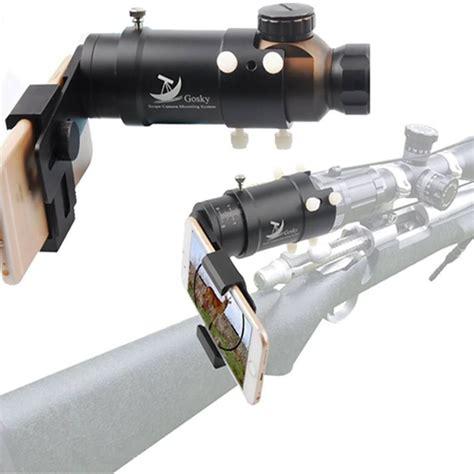 Diy Smartphone Rifle Scope Mount
