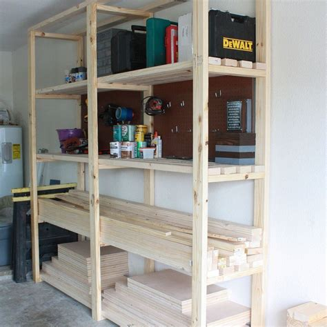 Diy Storage Shelves For Garage Make Your Own Beautiful  HD Wallpapers, Images Over 1000+ [ralydesign.ml]