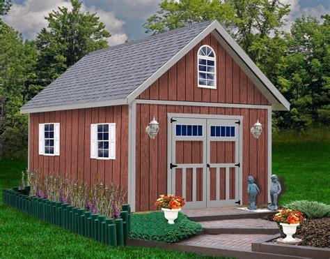 diy wood shed building kits.aspx Image