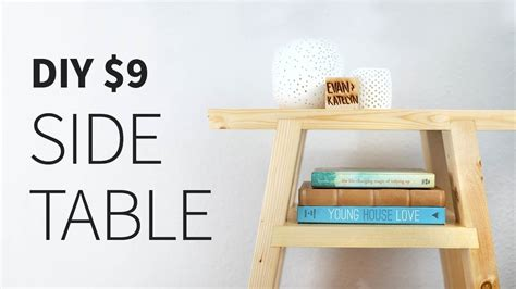 Diy 2x4 side table how to Image