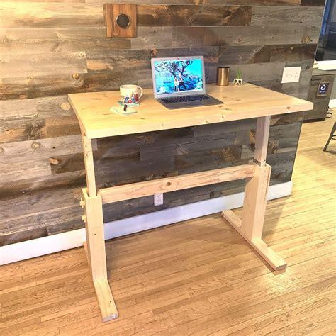Diy adjustable desk Image