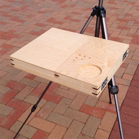 Diy bench easel Image