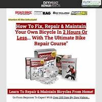 Diy bike repair earn $66 55 per sale with red hot conversions! secret codes