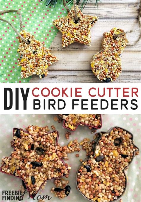 Diy bird feeders with cookie cutters Image