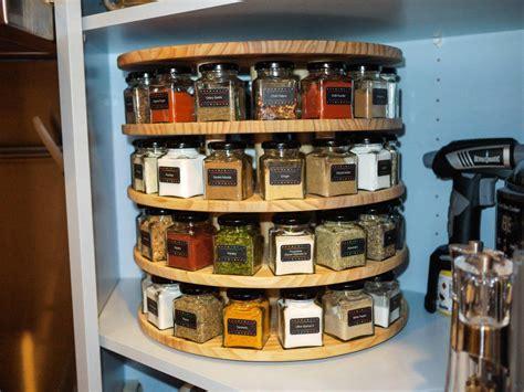 Diy carousel spice rack Image