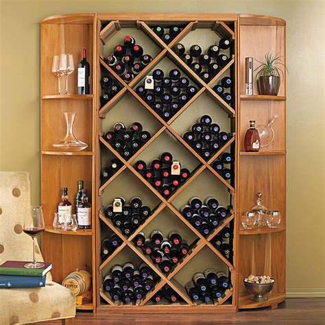 Diy diamond bin wine rack Image