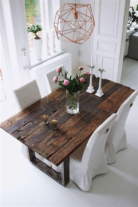 Diy dining room table ideas Image